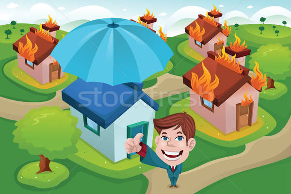 House insurance concept Stock photo © artisticco