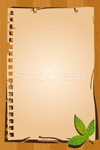 Vintage paper background Stock photo © artisticco