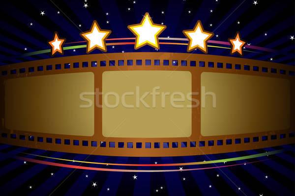 Movie theater background Stock photo © artisticco