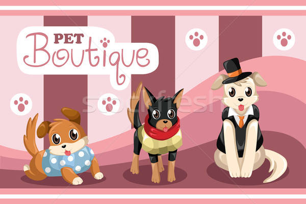 Pet boutique Stock photo © artisticco