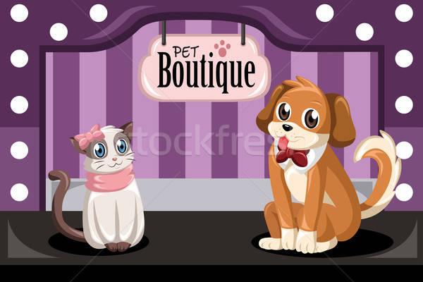 Pet boutique Stock photo © artisticco