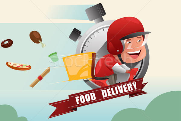 Food Delivery Service Stock photo © artisticco