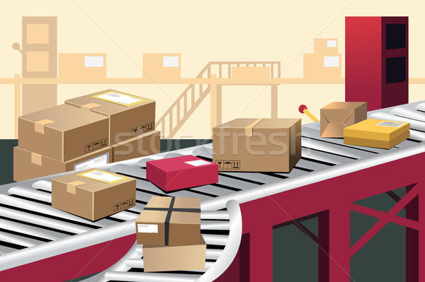 Warehouse Stock photo © artisticco
