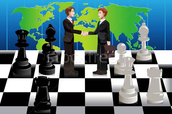 Business merger concept Stock photo © artisticco