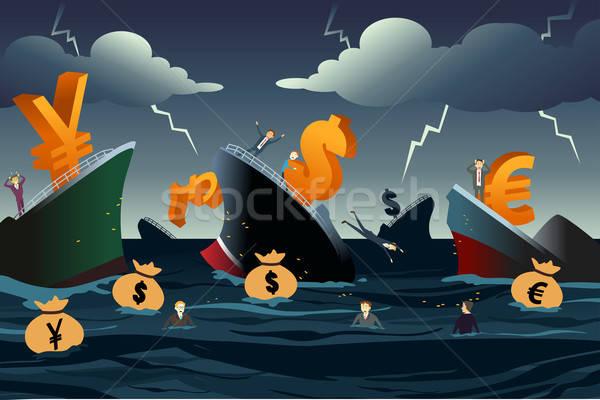 Economic Crisis Concept Stock photo © artisticco