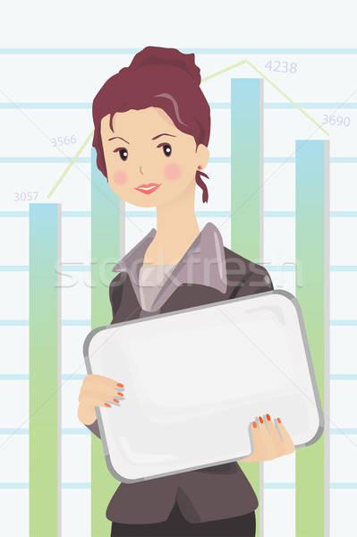 Businesswoman Stock photo © artisticco