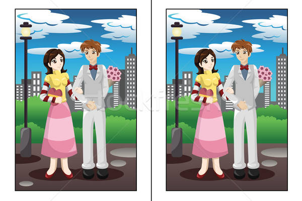 Find the differences game Stock photo © artisticco