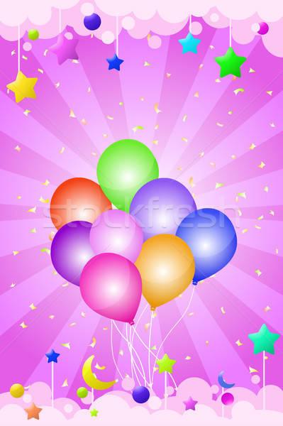 Birthday card Stock photo © artisticco