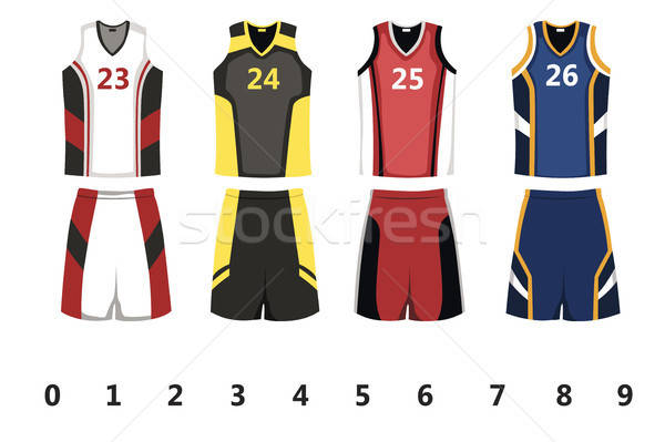 Basketball jersey Stock photo © artisticco