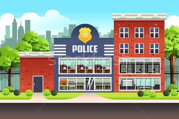 Police Station Stock photo © artisticco