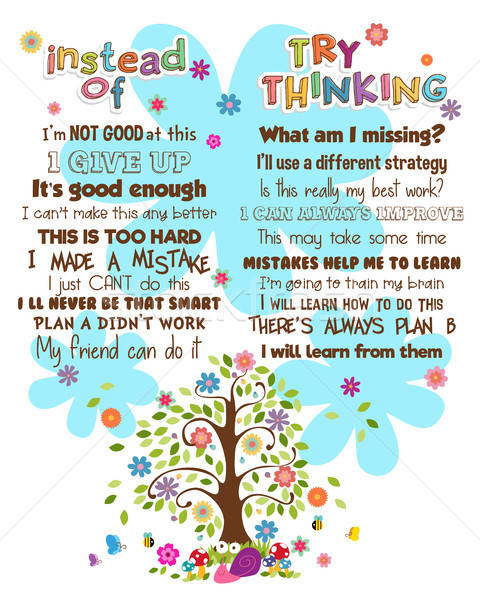 Motivational Words Poster Stock photo © artisticco