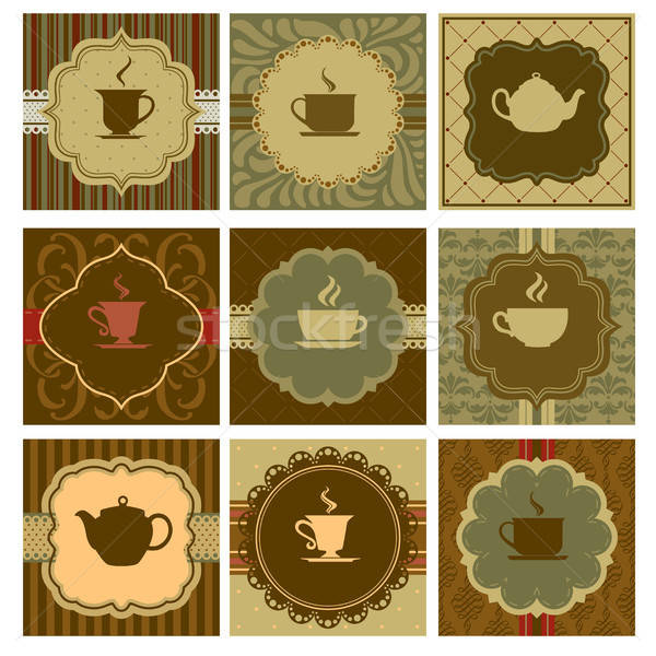 Coffee design Stock photo © artisticco