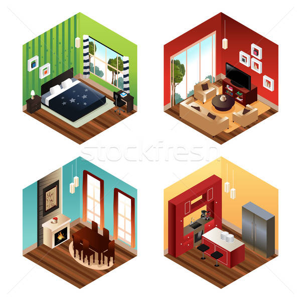 Modern Home Stock photo © artisticco
