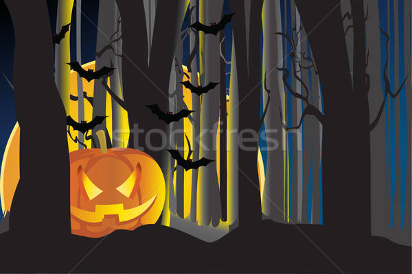 Halloween pumpkin Stock photo © artisticco