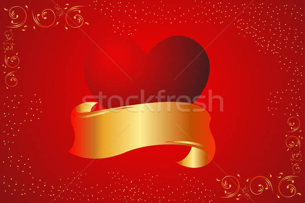 Valentine card background Stock photo © artisticco