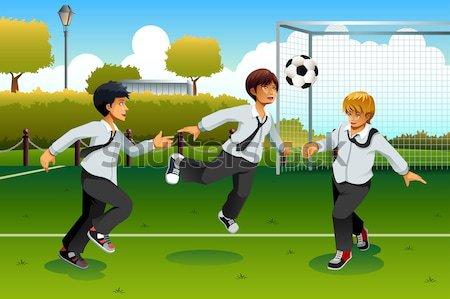 Béisbol jugadores formación deporte estadio Foto stock © artisticco