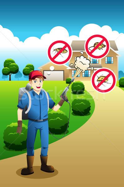 Exterminator Service Poster Stock photo © artisticco