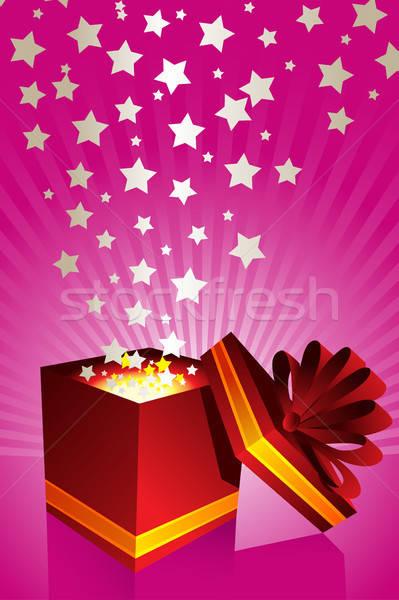 Gift box Stock photo © artisticco