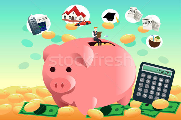 Future financial planning concept Stock photo © artisticco
