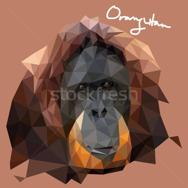 Illustrazione mosaico stile disegno grafica cartoon Foto d'archivio © artisticco