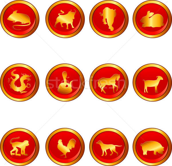 Chinese astrology Stock photo © artisticco
