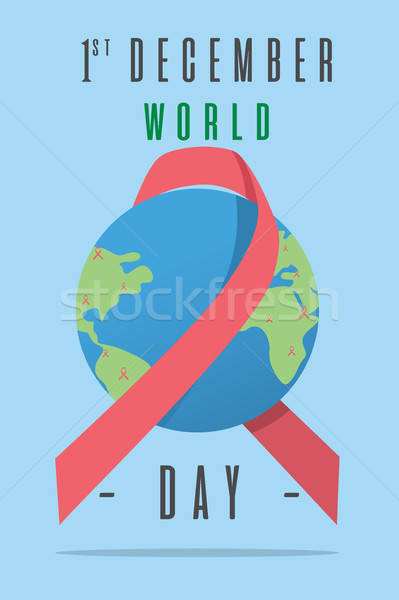 World AIDS Day Poster Stock photo © artisticco