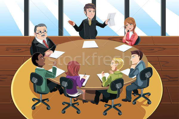 Business meeting Stock photo © artisticco