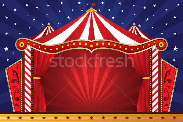 Circus background Stock photo © artisticco