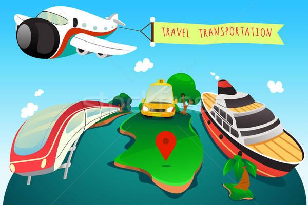 Travel Transportation Stock photo © artisticco