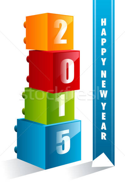 New Year 2015 sign Stock photo © artisticco