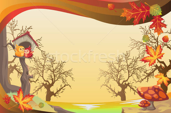Autumn or Fall season background Stock photo © artisticco