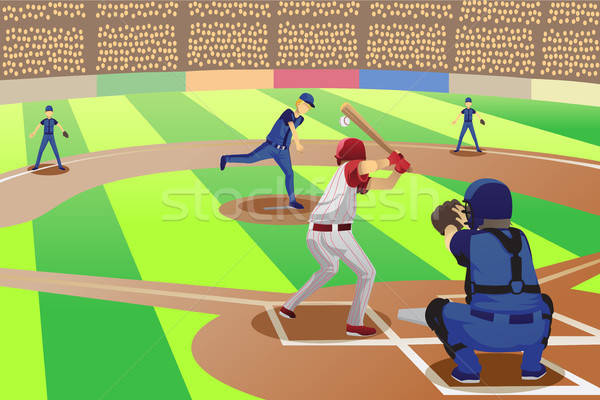 Baseball game Stock photo © artisticco