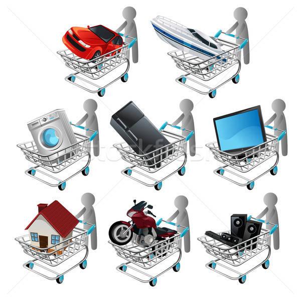 Shopping Stock photo © artisticco