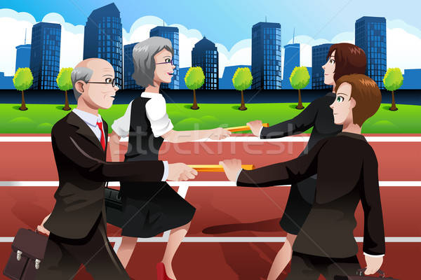Business teamwork concept Stock photo © artisticco
