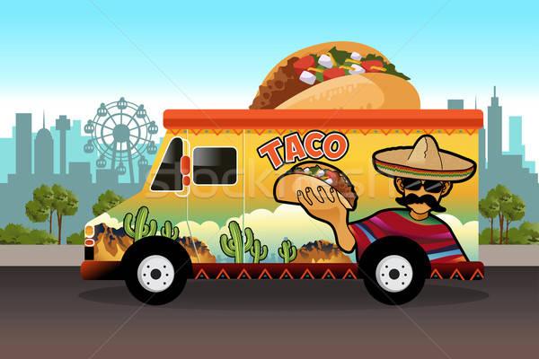 Taco Food Truck Stock photo © artisticco