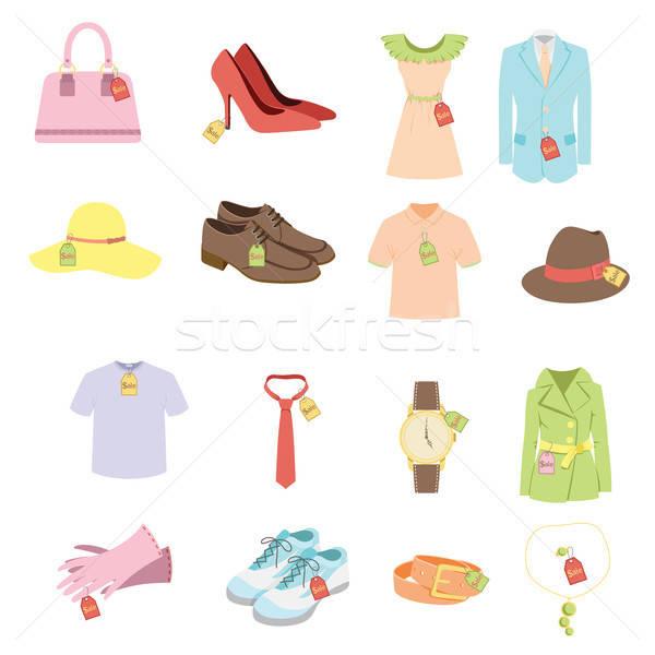 Apparel sale tags Stock photo © artisticco