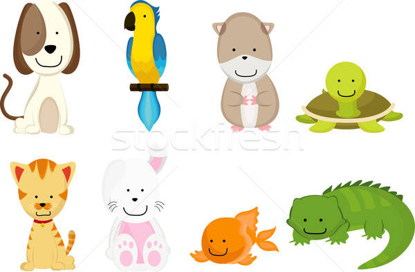 Pets cartoon Stock photo © artisticco