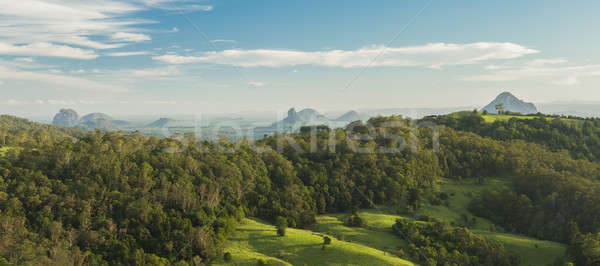 Mount Beerwah in the afternoon sun. Stock photo © artistrobd