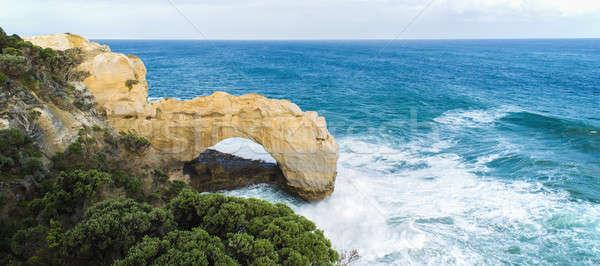 Сток-фото: арки · порта · парка · океана · дороги