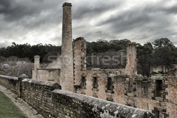 Port Arthur building in Tasmania, Australia. Stock photo © artistrobd