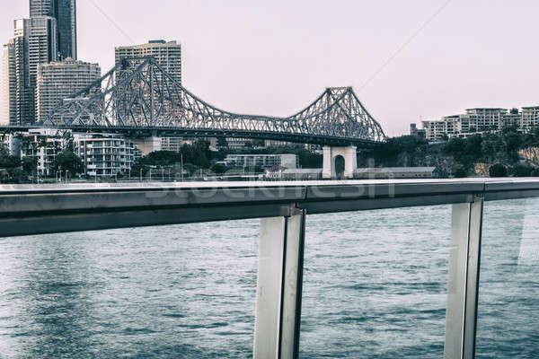 Story Bridge in Brisbane Stock photo © artistrobd