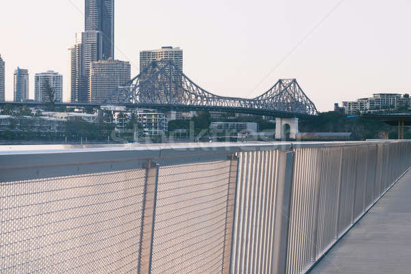 Story Bridge in Brisbane Stock photo © artistrobd