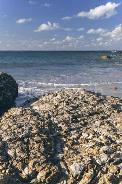 Playa nueva gales del sur tarde tarde agua naturaleza Foto stock © artistrobd