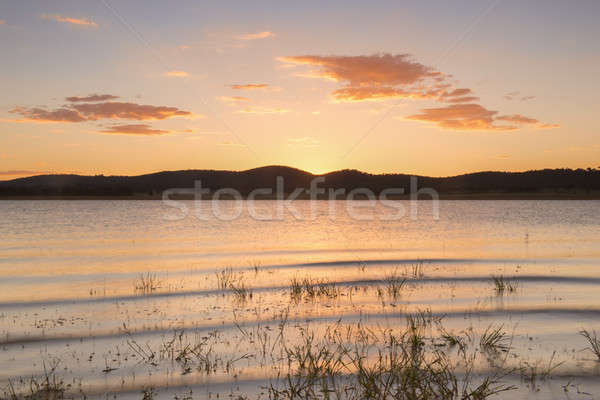 Stock photo: Lake Leslie in Queensland