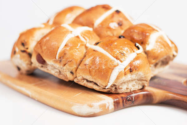 Hot Cross Buns Stock photo © artistrobd