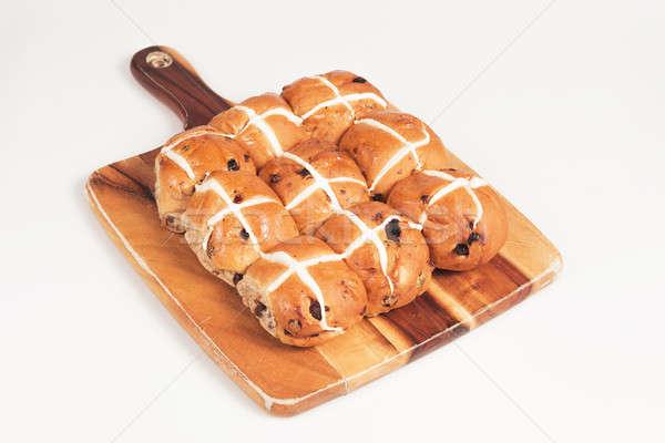 Hot Cross Buns Stock photo © artistrobd