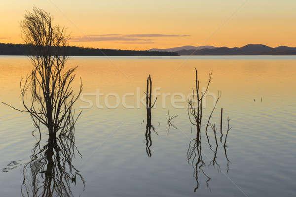 Meer queensland dag wolken zomer Stockfoto © artistrobd