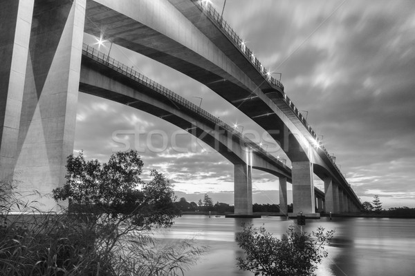 Stock photo: Gateway Bridge Motorway in Brisbane