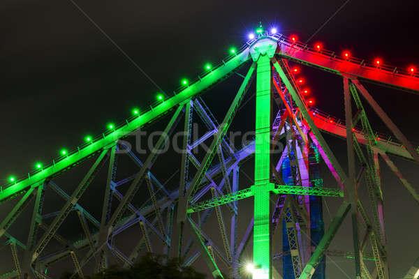 Verhaal brug brisbane queensland Australië Stockfoto © artistrobd