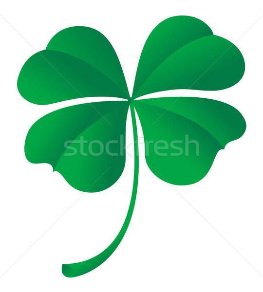 four leaf clover Stock photo © artizarus